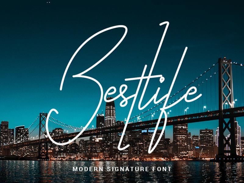 Download Bestlife font (typeface)
