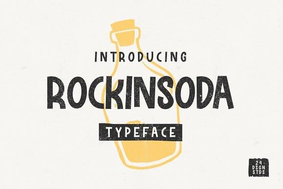 Download Rockinsoda font (typeface)