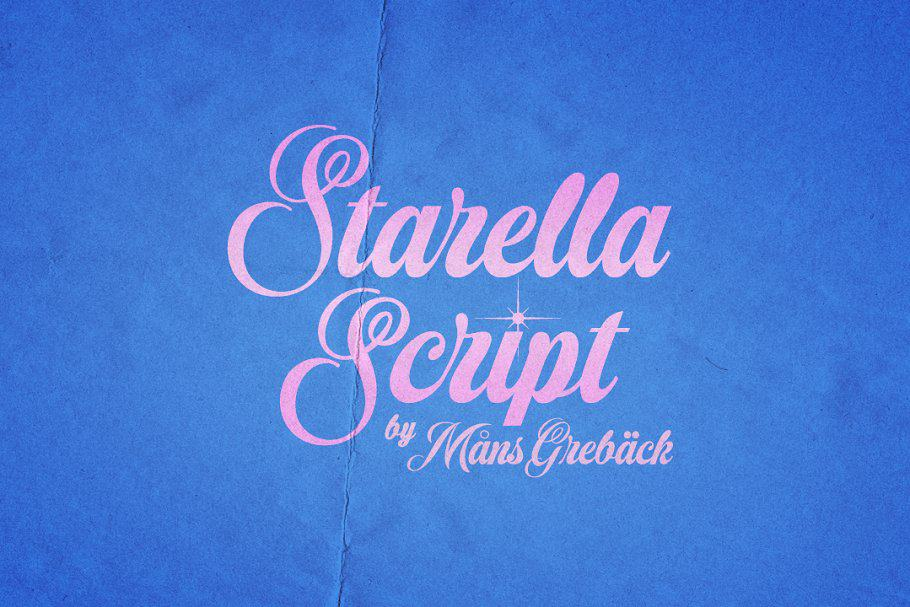 Download Starella font (typeface)