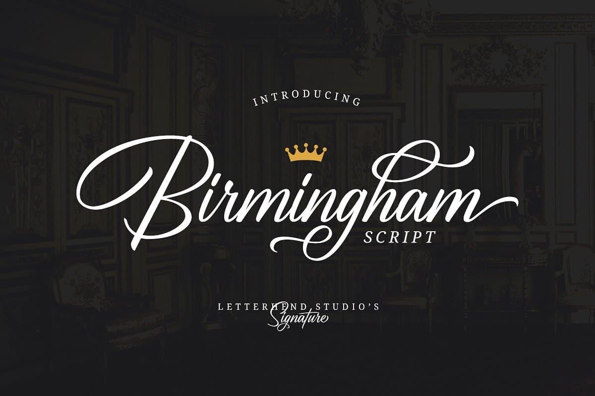 Download Birmingham font (typeface)