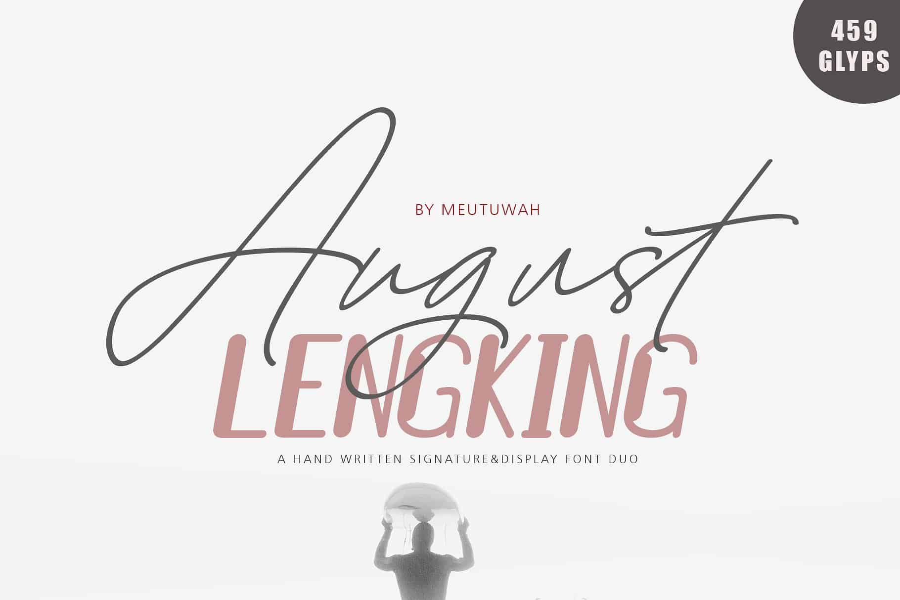 Download August font (typeface)