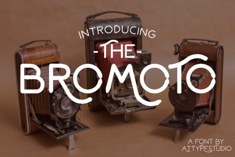 Download Bromoto font (typeface)