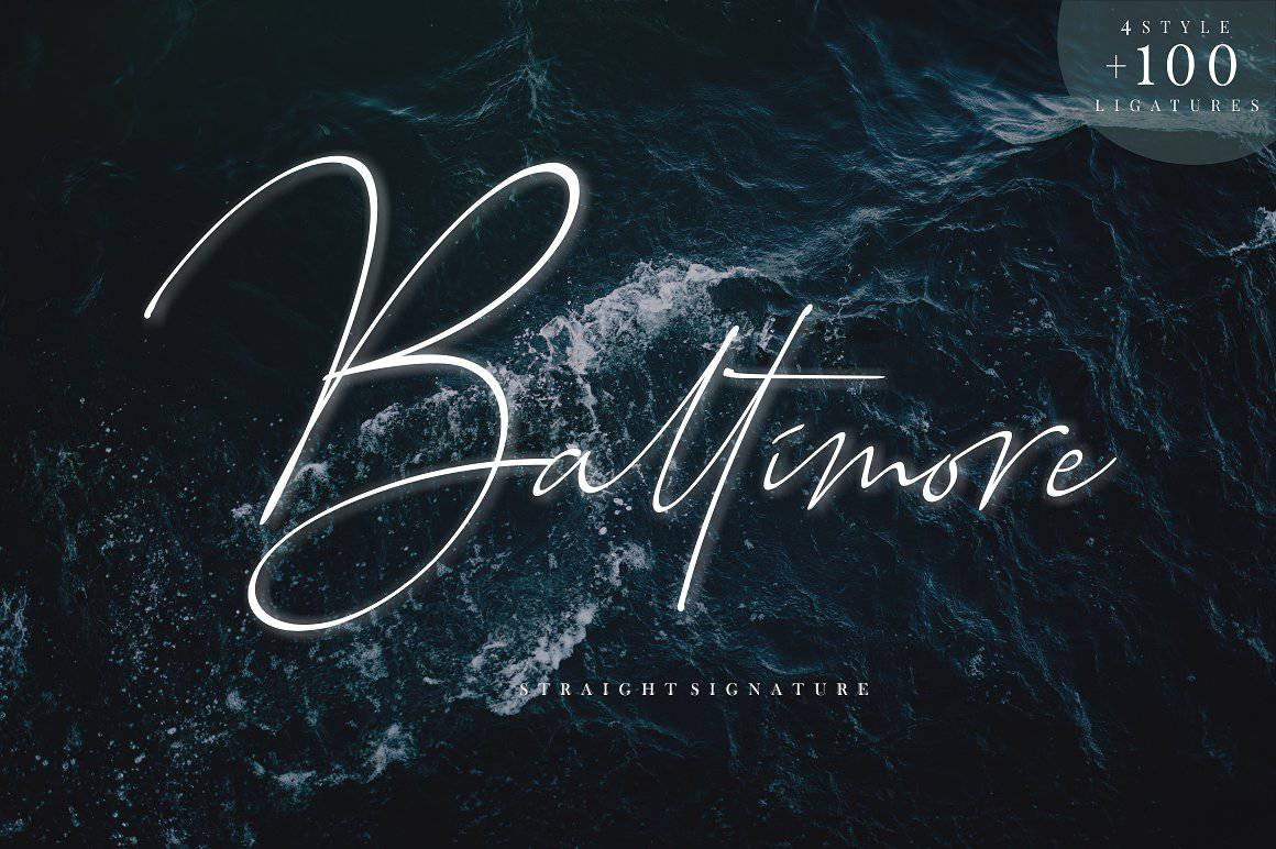 Download Baltimore font (typeface)