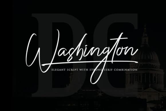 Download Washington font (typeface)