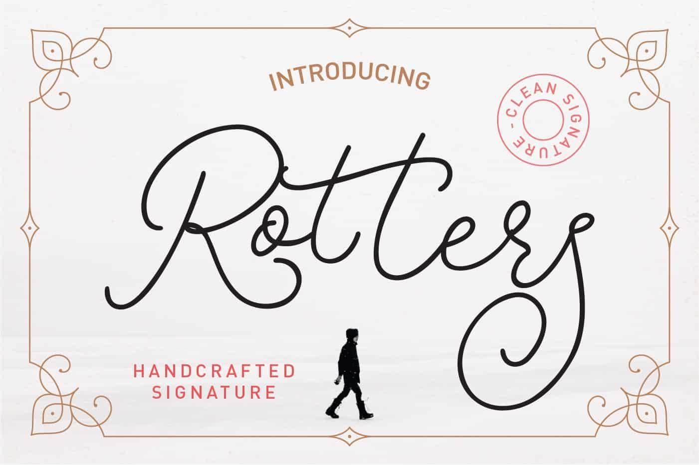 Rotters шрифт скачать бесплатно