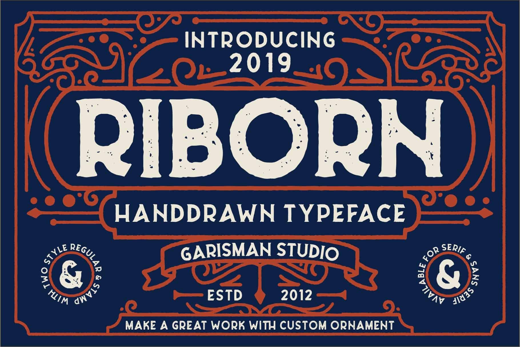 Download Riborn Two font (typeface)