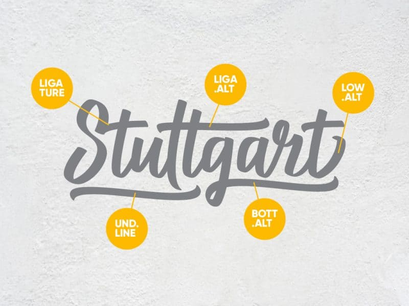 Download Stuttgart font (typeface)