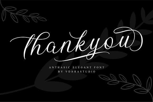 Download Anthasic font (typeface)