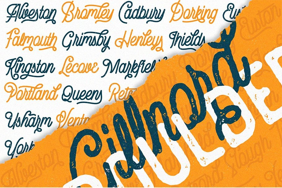 Download Gillnord font (typeface)