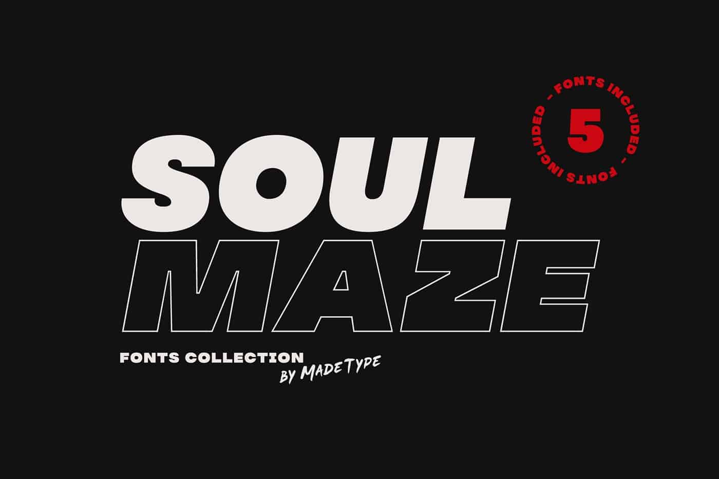 Download MADE Soulmaze font (typeface)