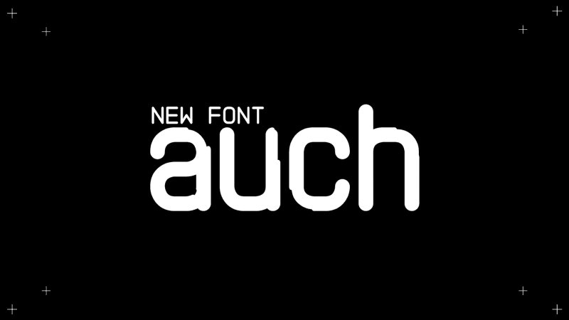 Download Auch font (typeface)