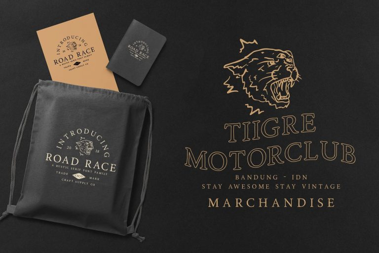Download Road Race font (typeface)