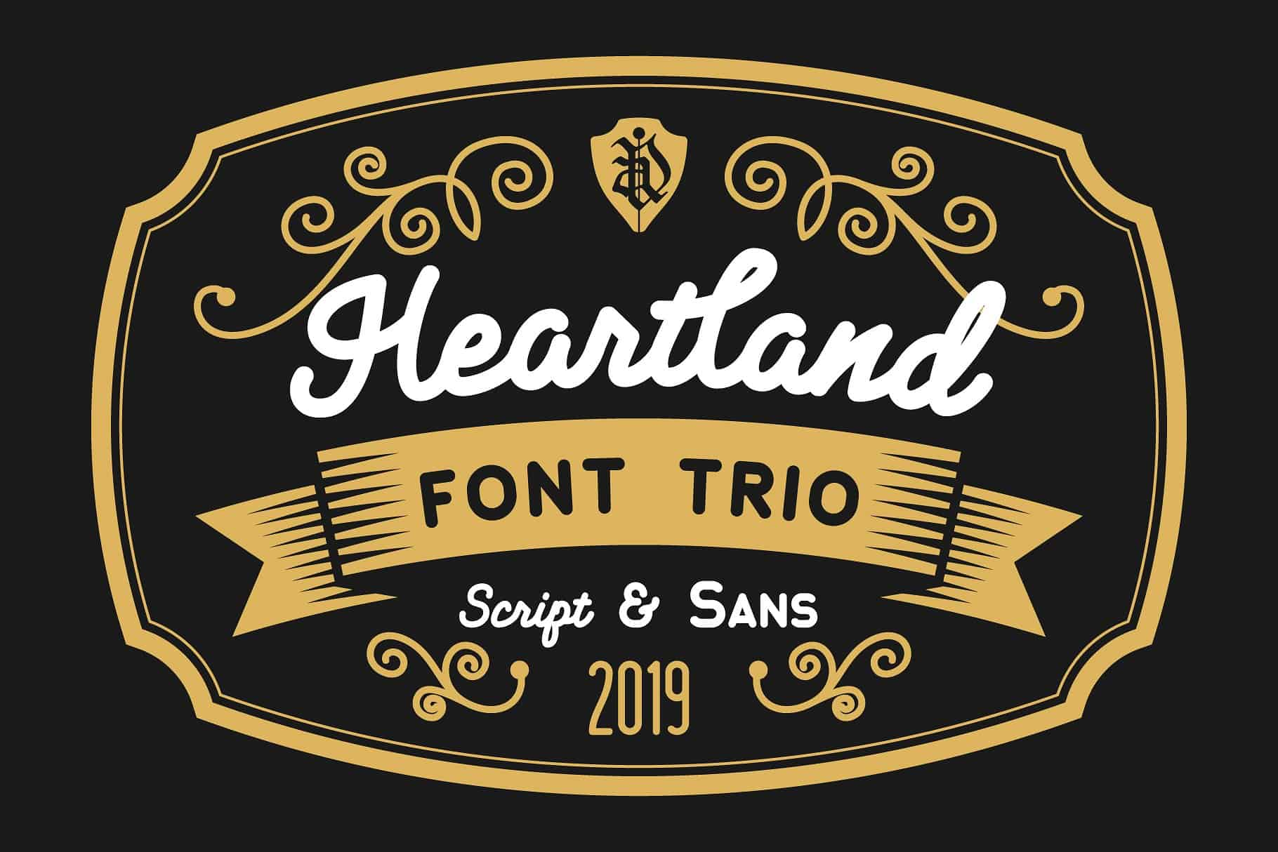 Download Heartland font (typeface)