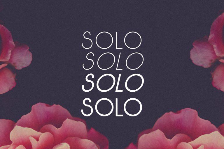 Download Solo font (typeface)