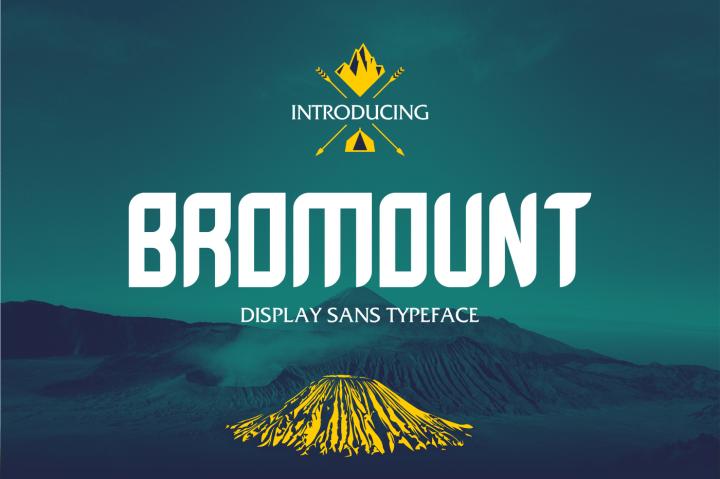 Download Bromount font (typeface)