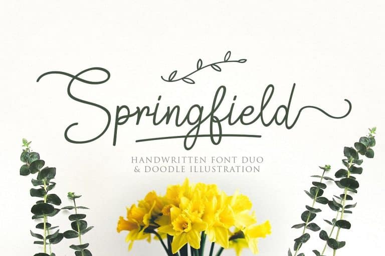 Download Springfield font (typeface)