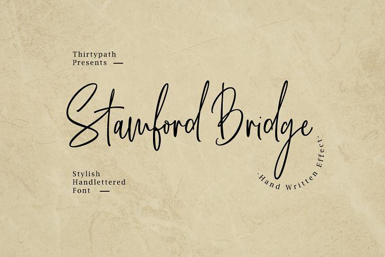 Download Stamford Bridge font (typeface)