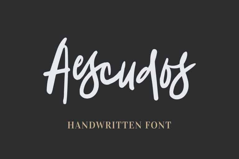 Download Aescudos font (typeface)