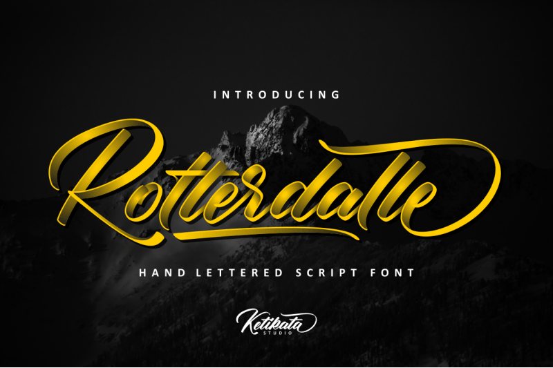 Download Rotterdalle font (typeface)