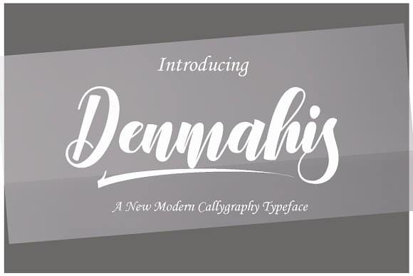 Download Denmahis font (typeface)