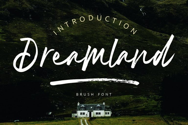 Download Dreamland font (typeface)