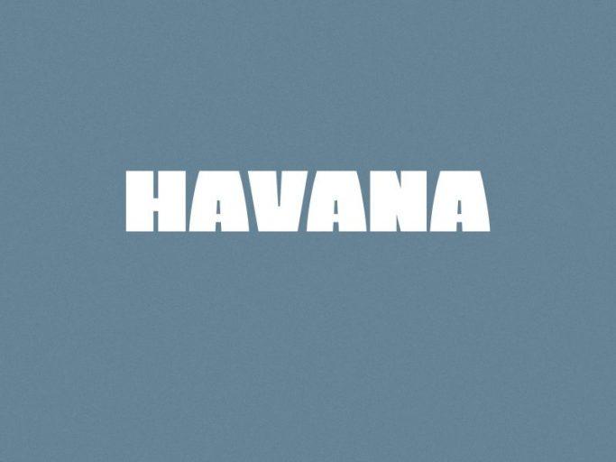 Download Havana Bold font (typeface)