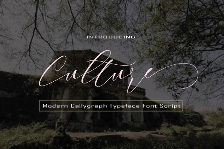 Download Culture font (typeface)