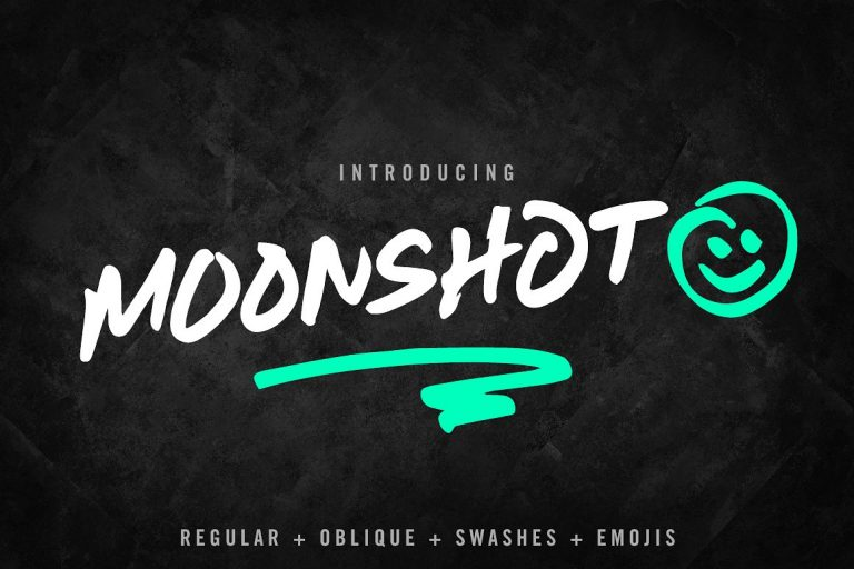 Download Moonshot font (typeface)