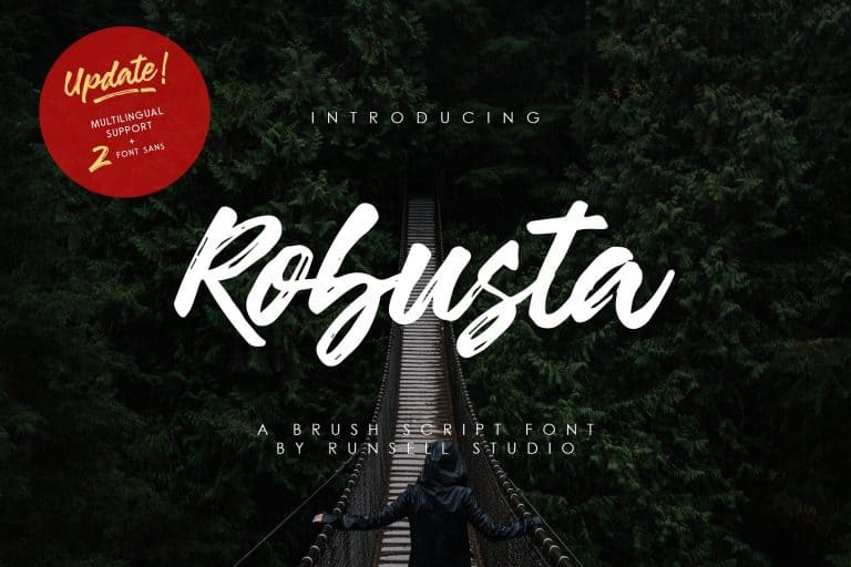 Download Robusta font (typeface)