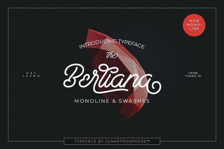 Download Berliana font (typeface)