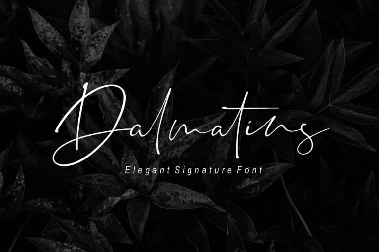 Download Dalmatins font (typeface)