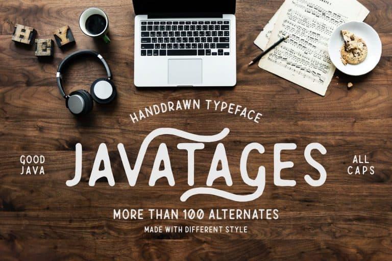 Download Javatages font (typeface)