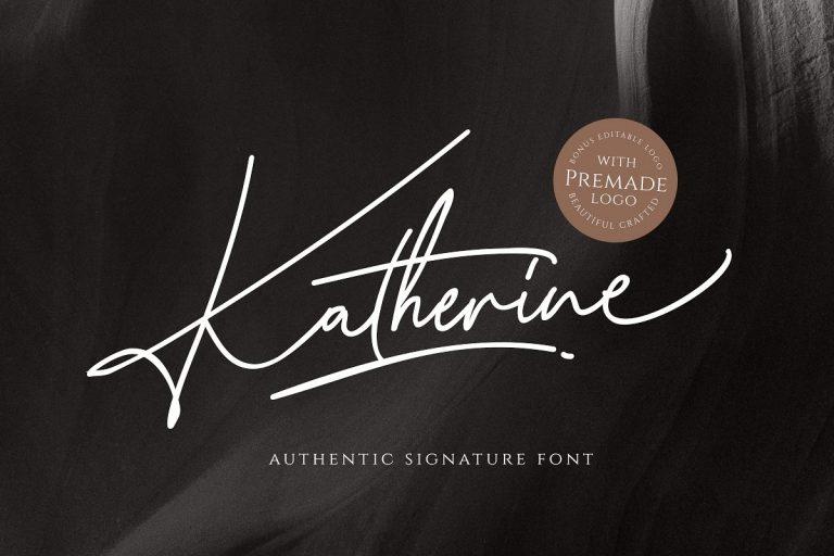 Download Katherine font (typeface)
