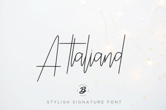 Download Attaliand font (typeface)