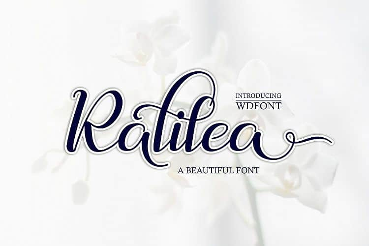 Download Ralilea font (typeface)