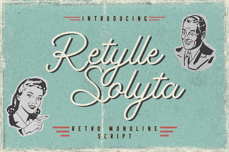 Download Retylle Solyta font (typeface)