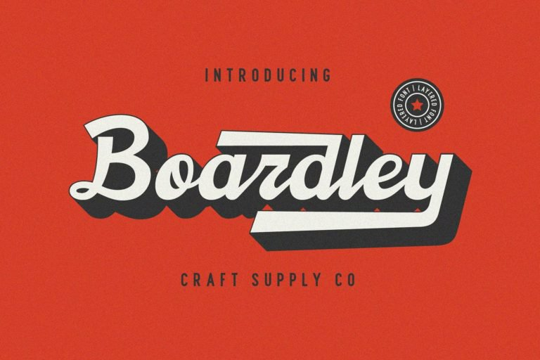 Download Boardley font (typeface)
