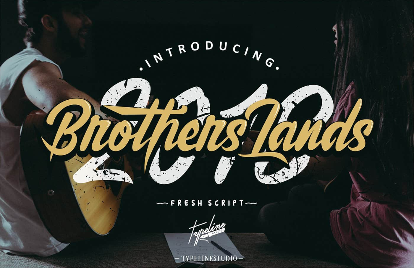 Download Brother Lands font (typeface)