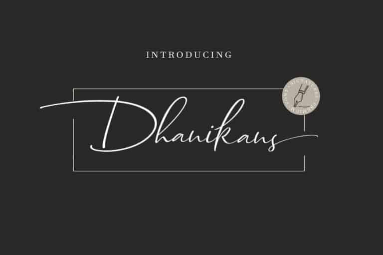 Download Dhanikans font (typeface)
