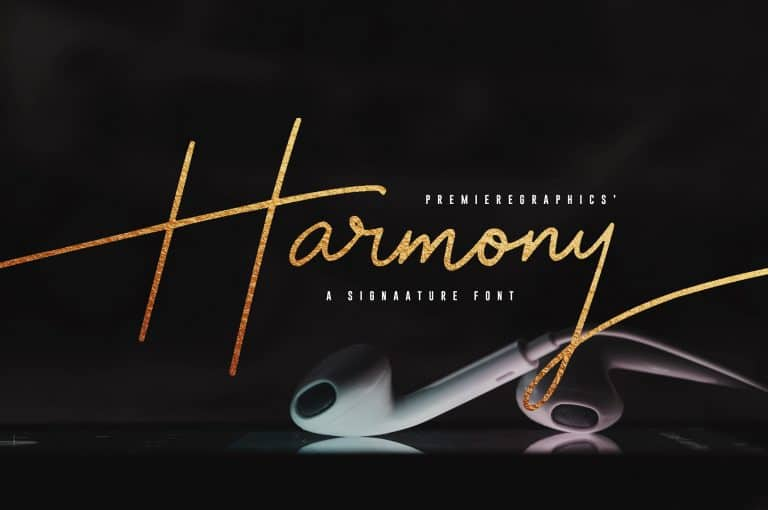 Download Harmony font (typeface)