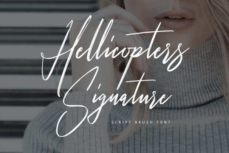 Download Hellicopters font (typeface)