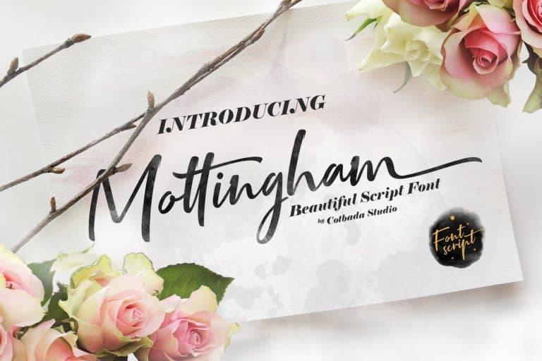 Download Mottingham font (typeface)