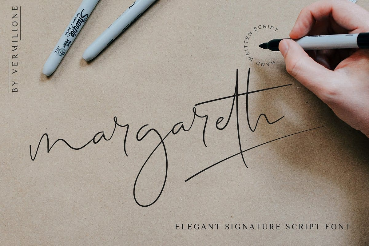 Download Margareth font (typeface)