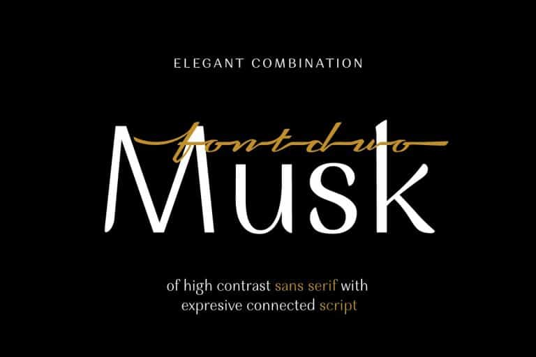 Download Musk font (typeface)