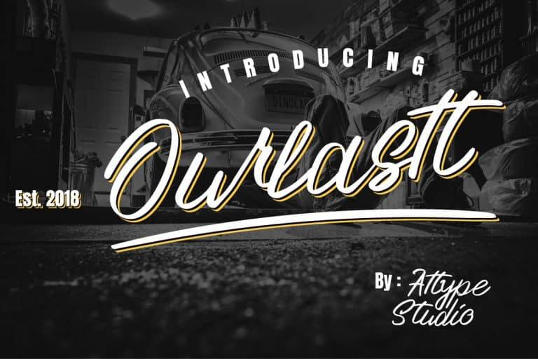 Download Ourlastt font (typeface)