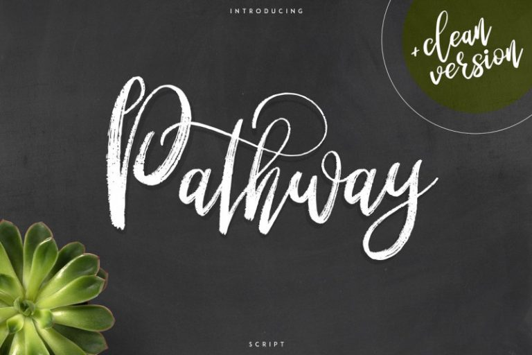 Download Pathway font (typeface)