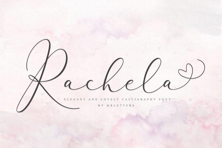 Download Rachela font (typeface)