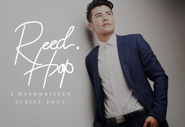 Download Reed Hop font (typeface)