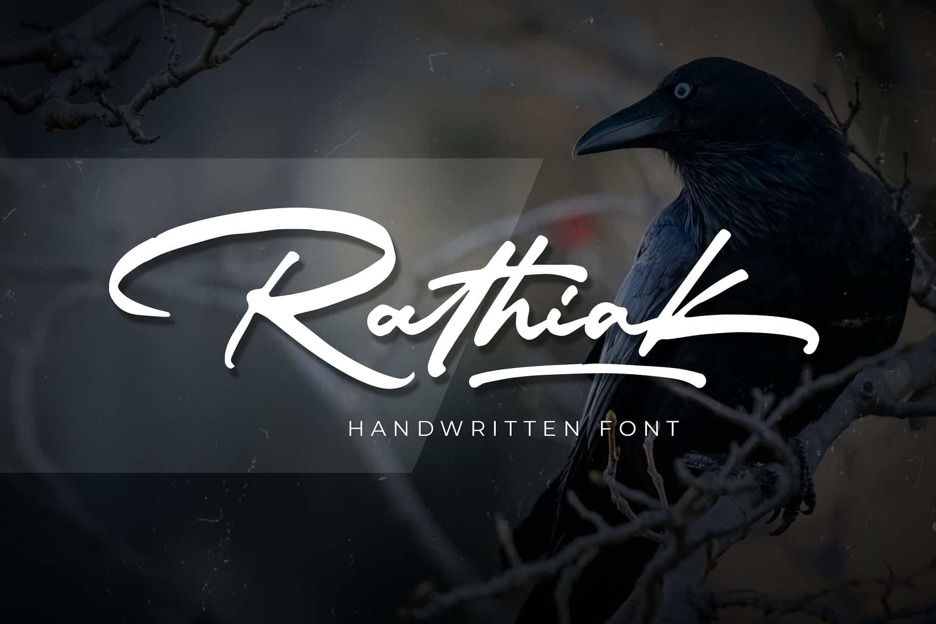Download Rathiak font (typeface)