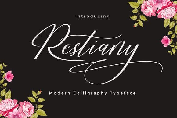 Download Restiany font (typeface)